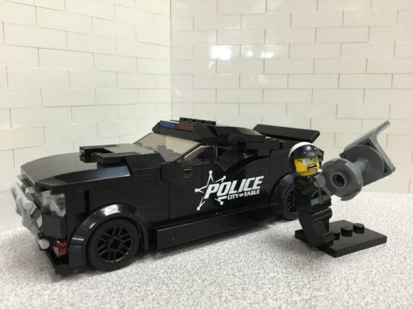 Eagle Police Cruiser
