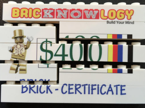 Brick Certificates 3