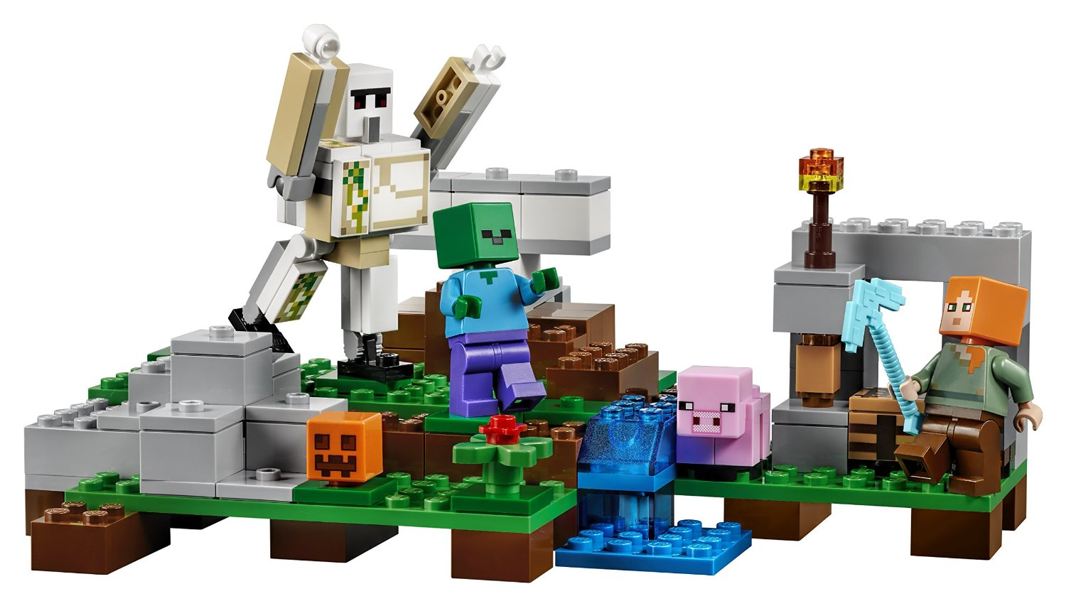21123 The Iron Golem Bricknowlogy Build Your Mind Lego 21132 Minecraft Jungle Temple