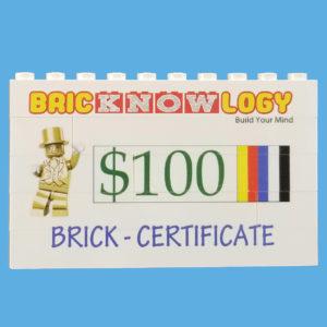 ~Brick Certificates ~