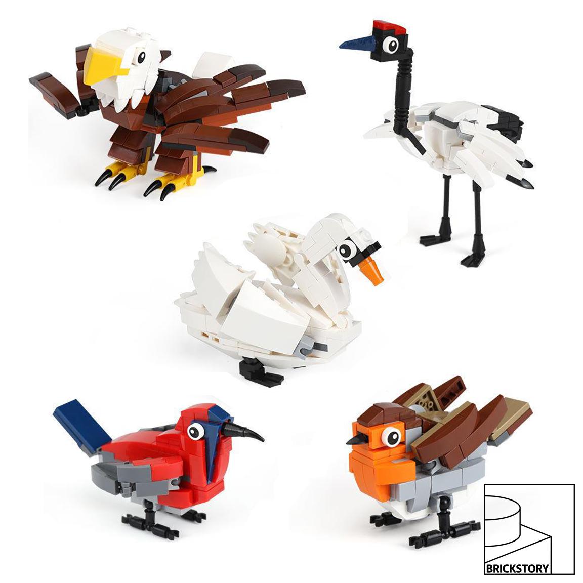 4002014 LEGO HUB Birds